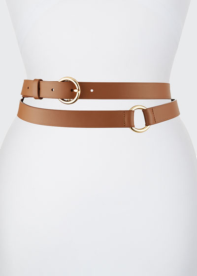 Double Wrap Leather Belt