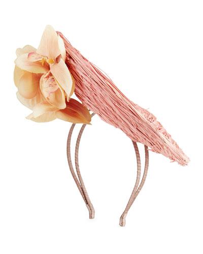 Greta Sinamay Disc Hat