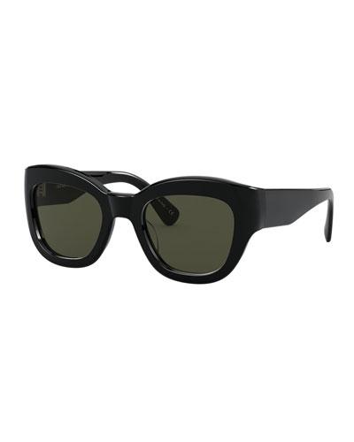 Lalit Square Acetate Sunglasses