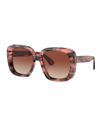 Nella Square Acetate Sunglasses