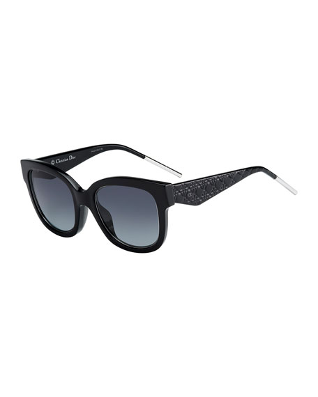 Verydior1 Square Acetate Sunglasses