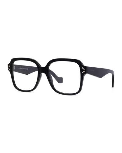 Square Acetate Optical Frames
