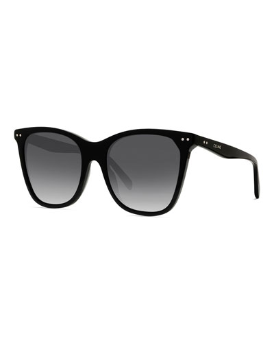 Cat-Eye Gradient Acetate Sunglasses