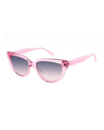 alijahgs acetate cat-eye sunglasses