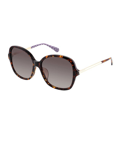 kaiyags square gradient sunglasses