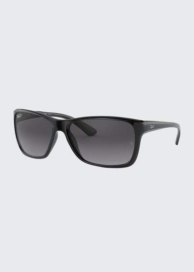 Square Polarized Sunglasses