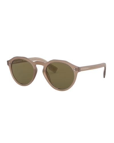 Round Acetate Sunglasses