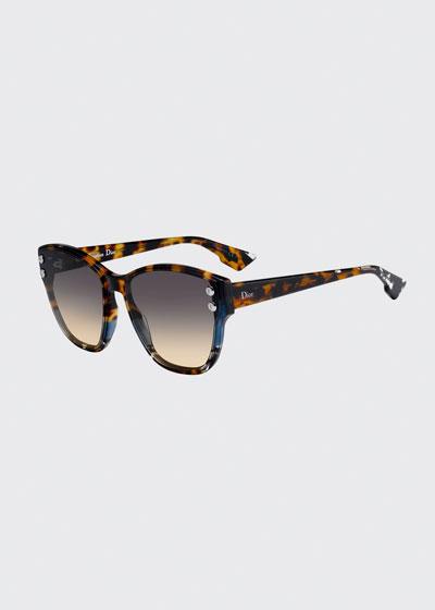DiorAdd3S Square Gradient Sunglasses