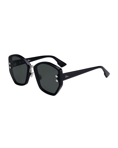 DiorAdd2 Square Acetate Sunglasses