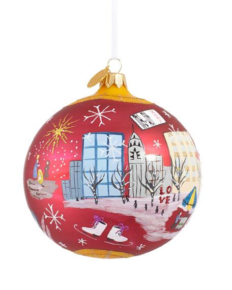 """Radio City Music Hall"" Christmas Ornament"