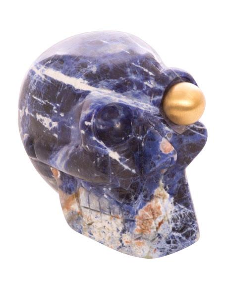 Left Eye Skull Sculpture