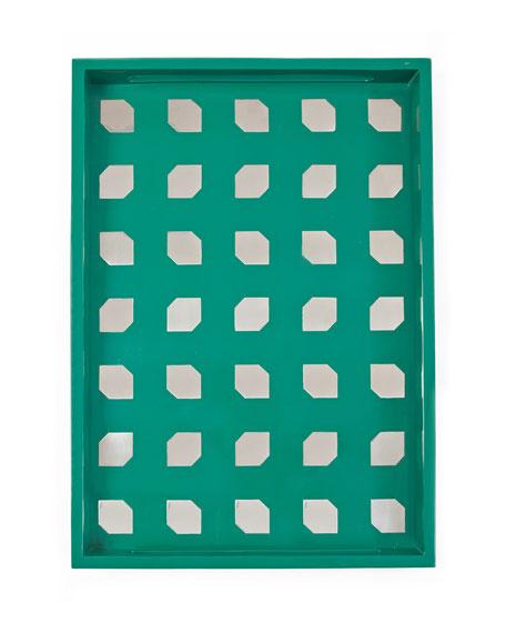 Asymmetrical Squares Tray