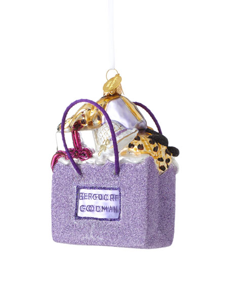 Landmark Creations Bergdorf-Goodman Shopping Bag Christmas