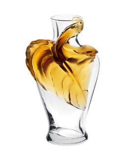 Lalique Tanega Vase