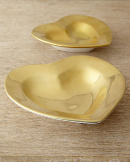 AERIN Gold Heart Dish (Medium)