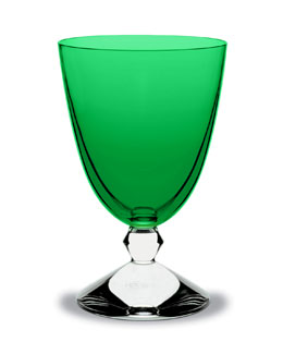 Baccarat Vega Water Glass, Emerald
