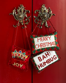 Merry Christmas Door Knocker