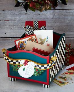 MacKenzie-Childs Holiday Card Box