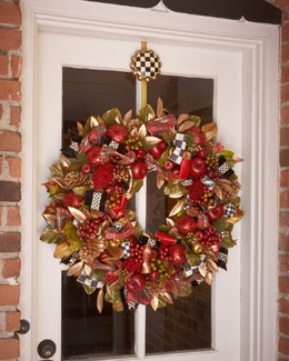 MacKenzie-Childs Large Gala Wreath