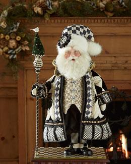 MacKenzie-Childs Tuxedo Santa