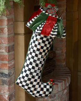 MacKenzie-Childs Balloonery Festoonery Christmas Stocking