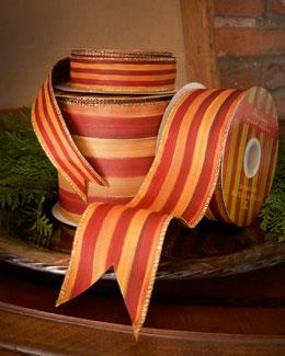 "MacKenzie-Childs Heirloom Stripe 2"" Ribbon"
