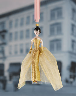 De Carlini Elegant Lady Christmas Ornament