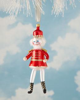 De Carlini Nutcracker Soldier Christmas Ornament