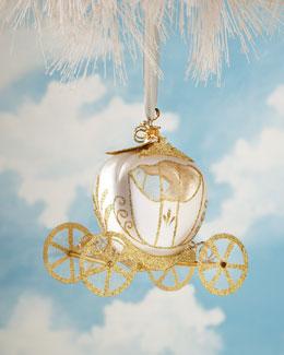 De Carlini Princess Coach Christmas Ornament