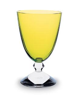Vega Water Glass, Olivine