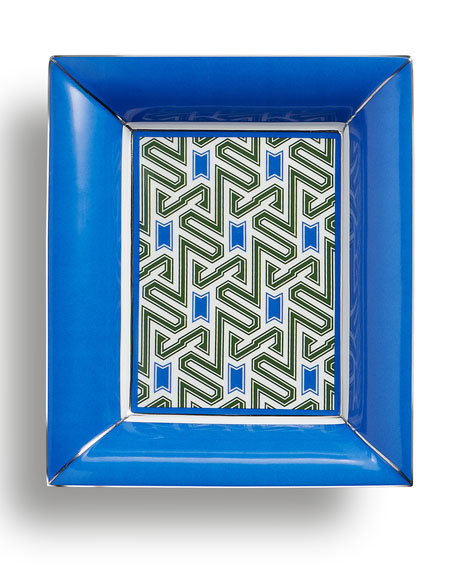 Geometric-Print Small Tray