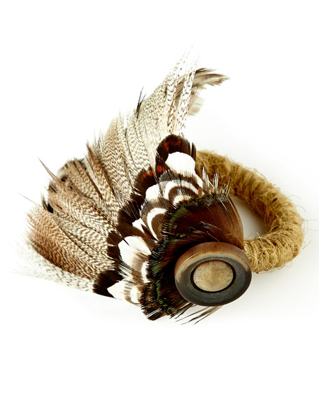Feather Napkin Ring