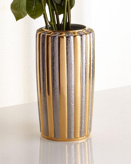 Voyage d'Or Large Vase
