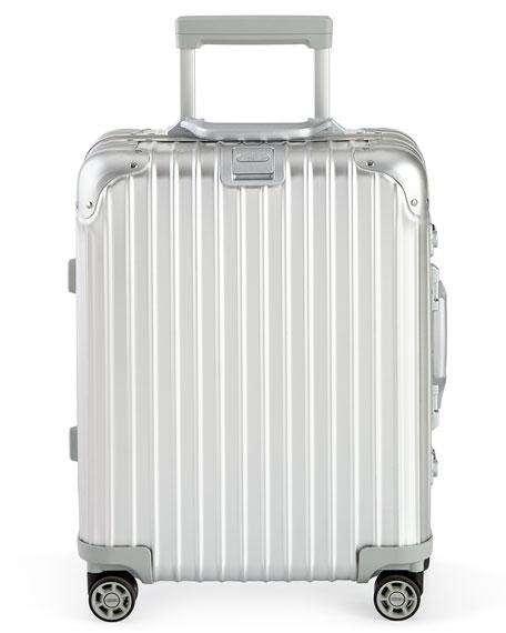 Rimowa North America Topas Silver Cabin Multiwheel IATA
