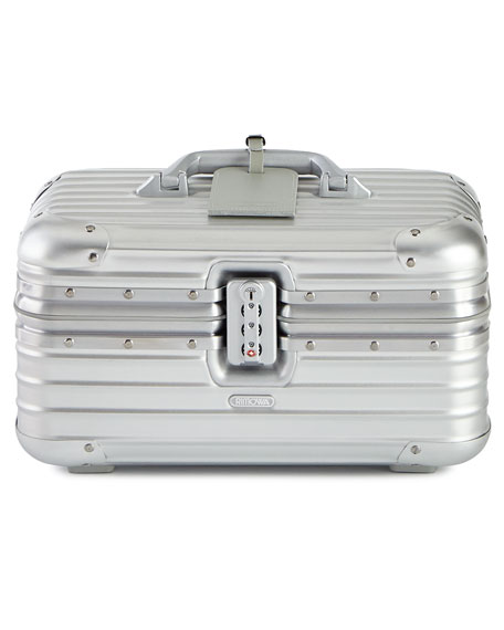 Rimowa North America Topas Silver Beauty Case