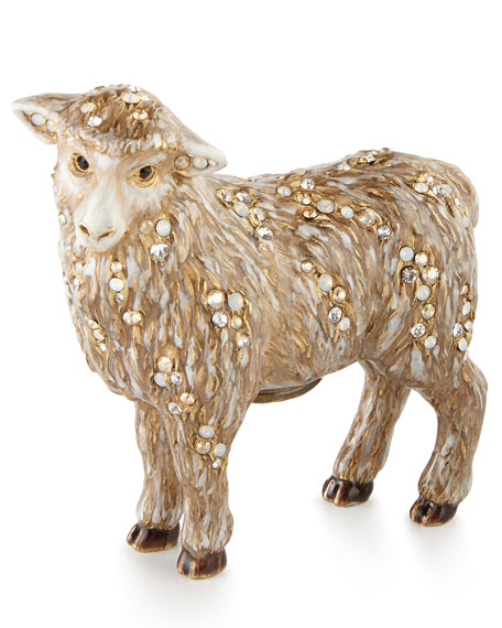 Standing Sheep Figurine