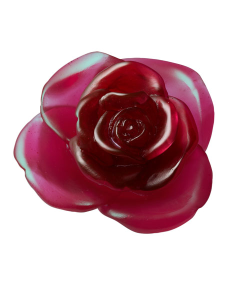 "Red ""Rose"" Flower Sculpture"