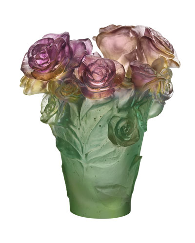 Small Rose Passion Vase