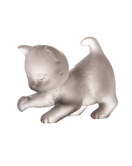 Gray Mini Kitten