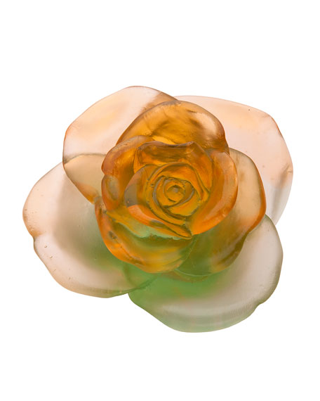 Rose Passion Orange/Green Flower