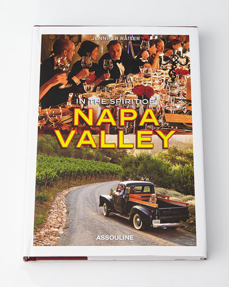 In the Spirit of Napa Hardcover Book