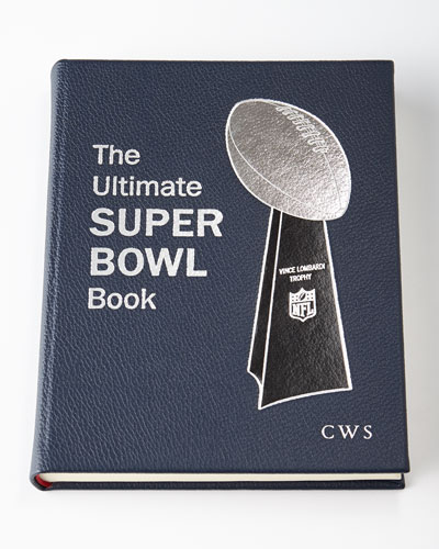 The Ultimate Superbowl Book - Monogrammed