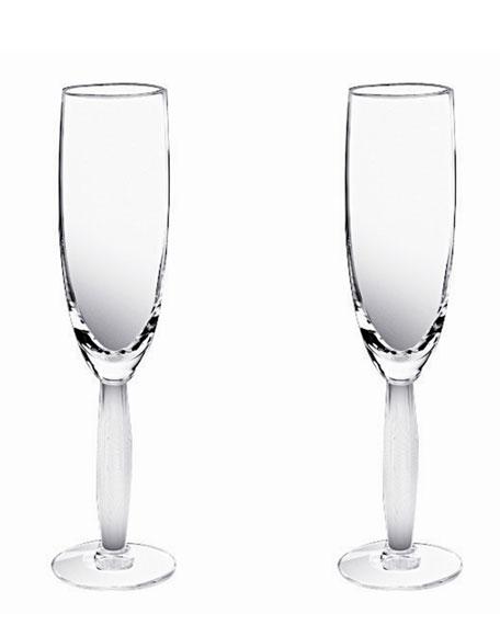 Two Diamant Flutes