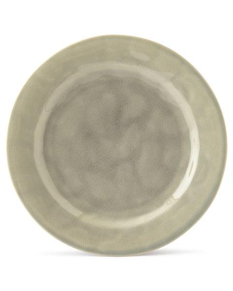 Puro Mist Grey Crackle Dinner Plate