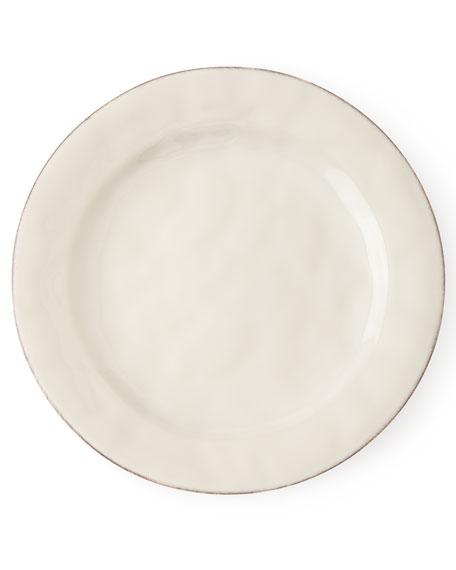 Juliska Puro Whitewash Dinner Plate