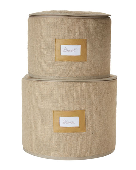 Juliska Plate Storage Container Set