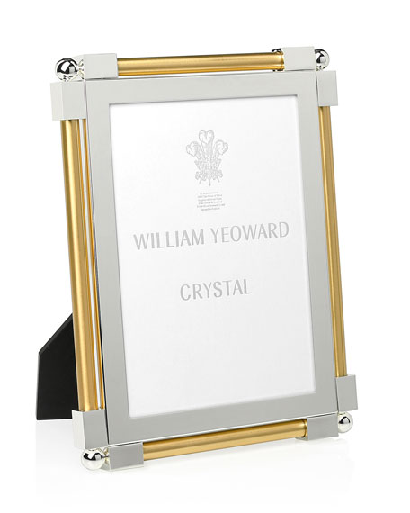 "Classic Gold-Tone 5"" x 7"" Picture Frame"