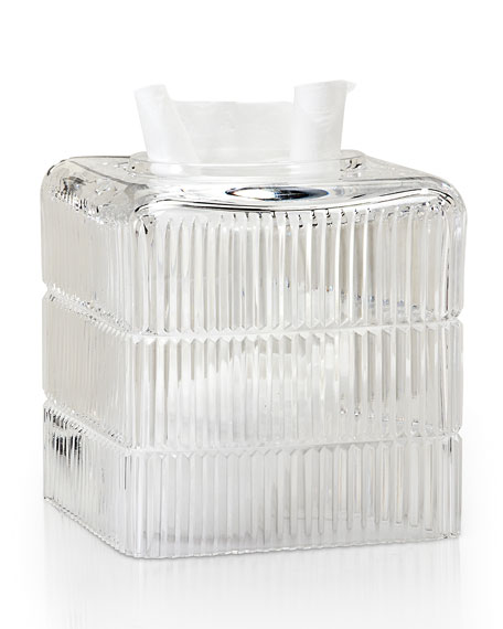Prisma Clear Tissue Box Cover