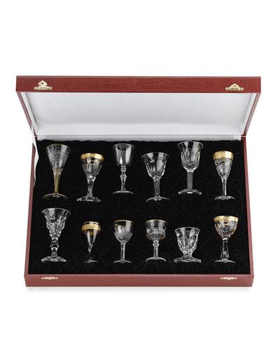 Liqueur Glasses, 12-Piece Set