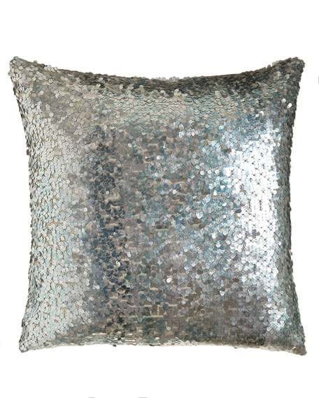 Aviva Stanoff Thalassa Sequined Pillow